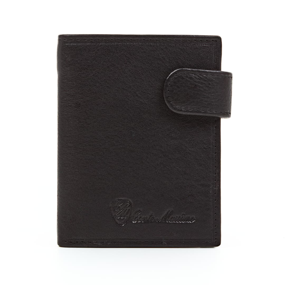 Leather wallet for credit card Conte Massimo | Holder