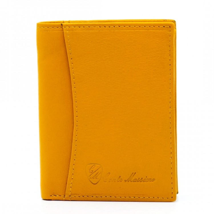 Leather wallet for credit card Conte Massimo | Card