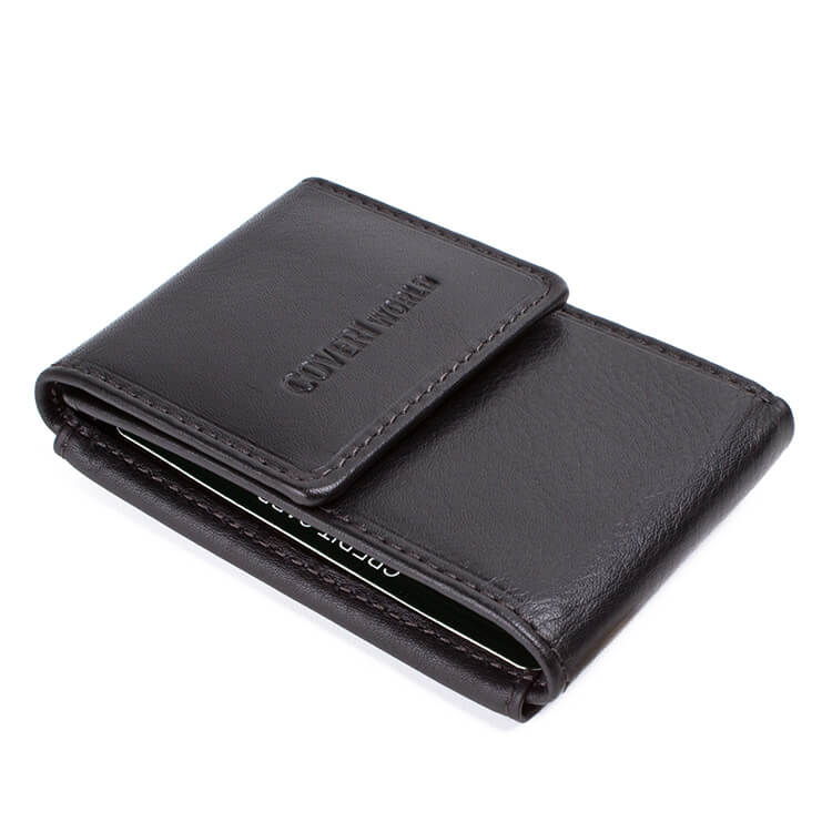 Men's leather wallet Coveri World | 7308-G25