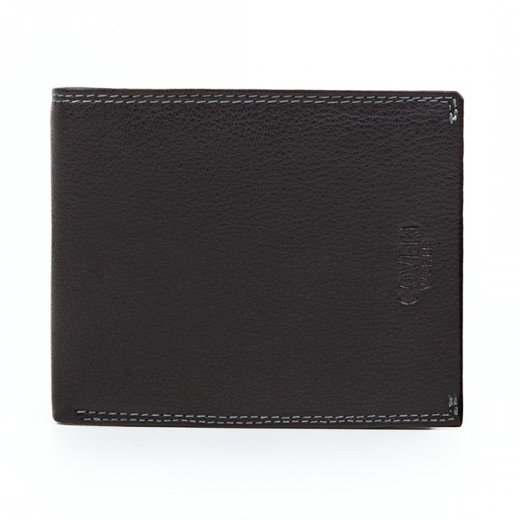 Herren Leder Geldbörse Coveri World | Blacky