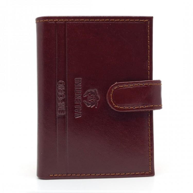 Leather case for cards Emporio Valentini | Casey