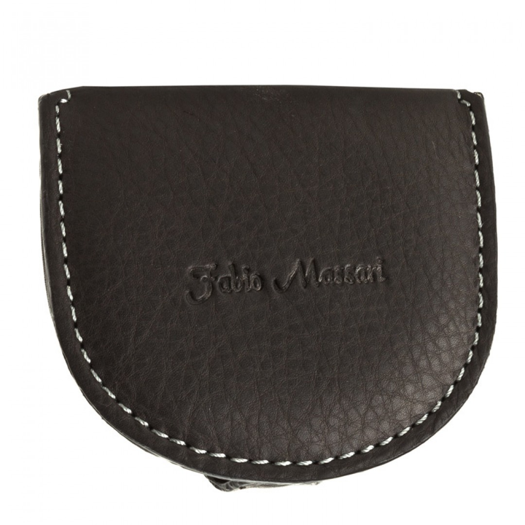 Leather coin case Fabio Massari | 8101