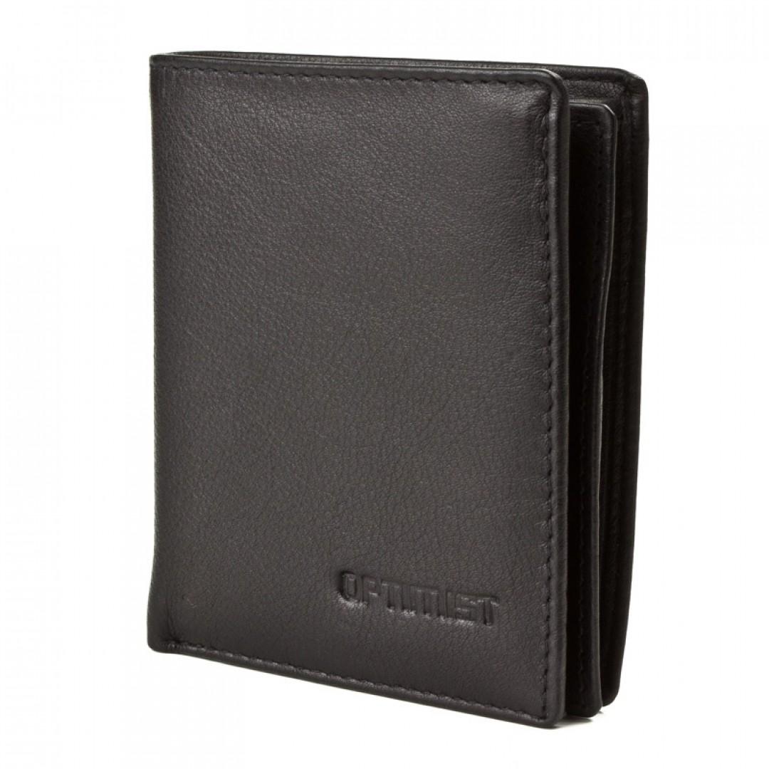Men's leather wallet Optimist | 03500