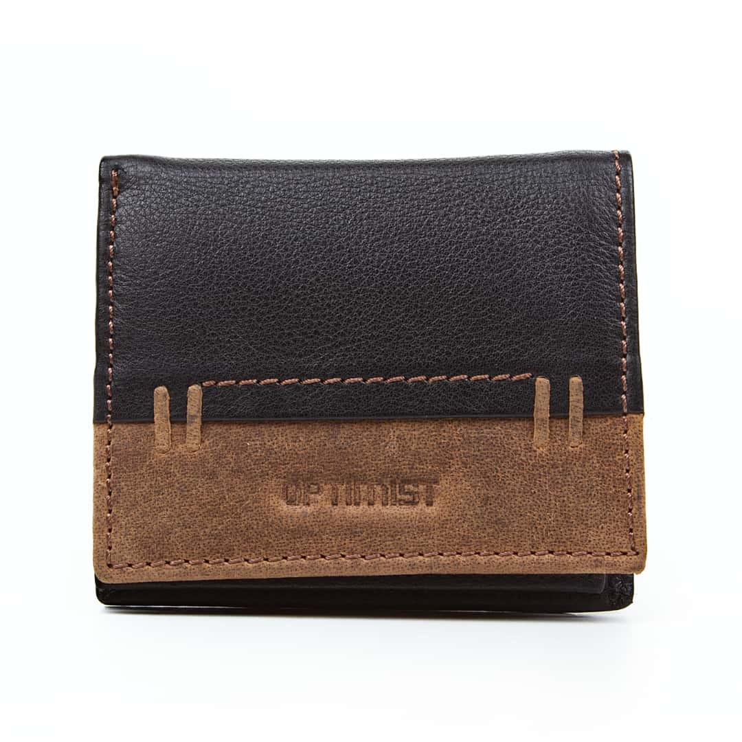 Men's leather wallet Optimist | 03500