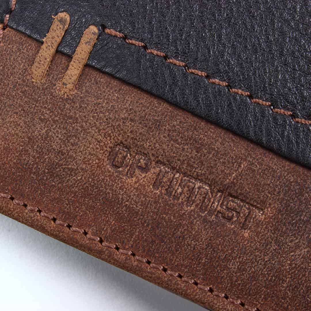 Men's leather wallet Optimist | 03569