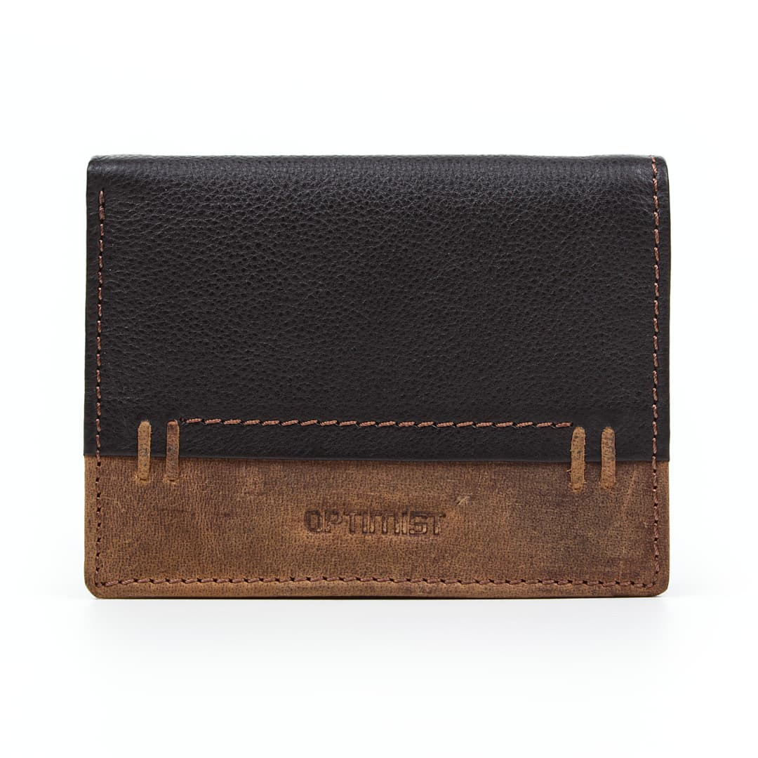 Men's leather wallet Optimist | 03570