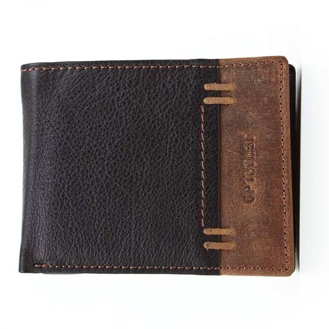 Men's leather wallet Optimist | 04113