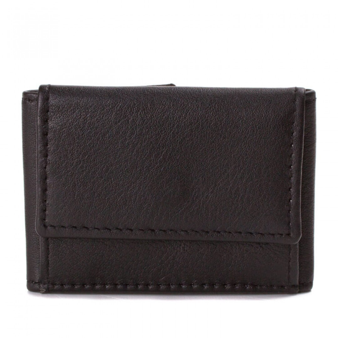 Men's leather wallet mini Optimist | GM-01