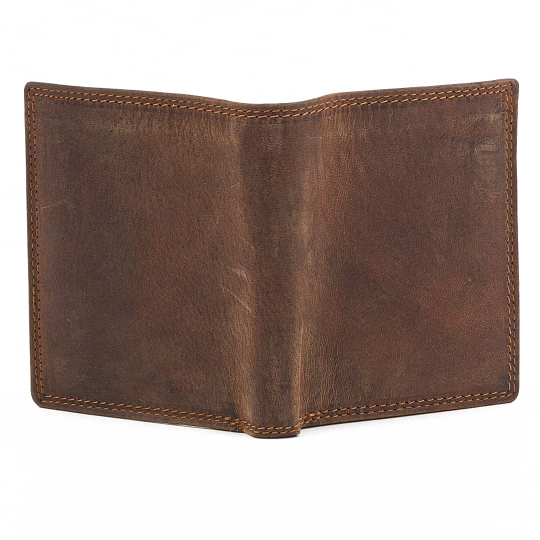 Men's leather wallet Optimist | Vintage