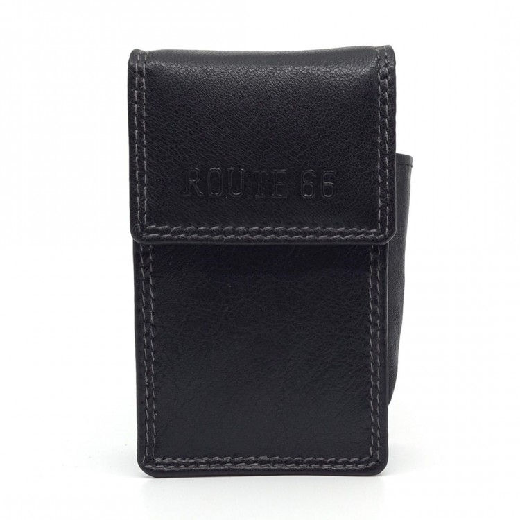 Leather case for Cigarette Route 66 | Fire