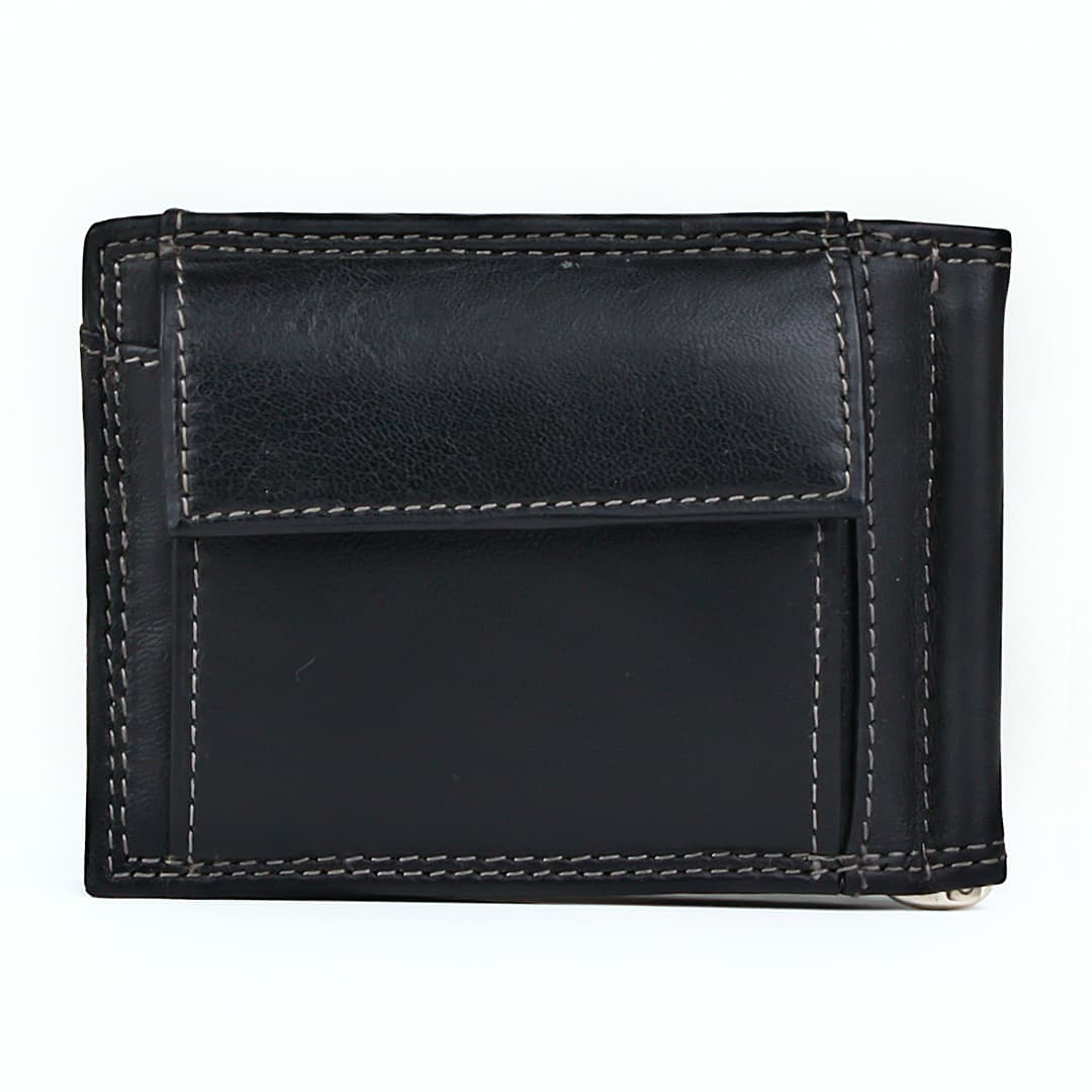 Money clip leather wallet Sergio Tacchini | Clark