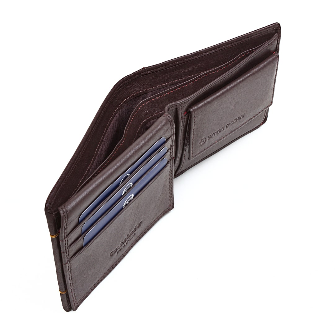 Men's leather wallet Sergio Tacchini | K50TTRP029