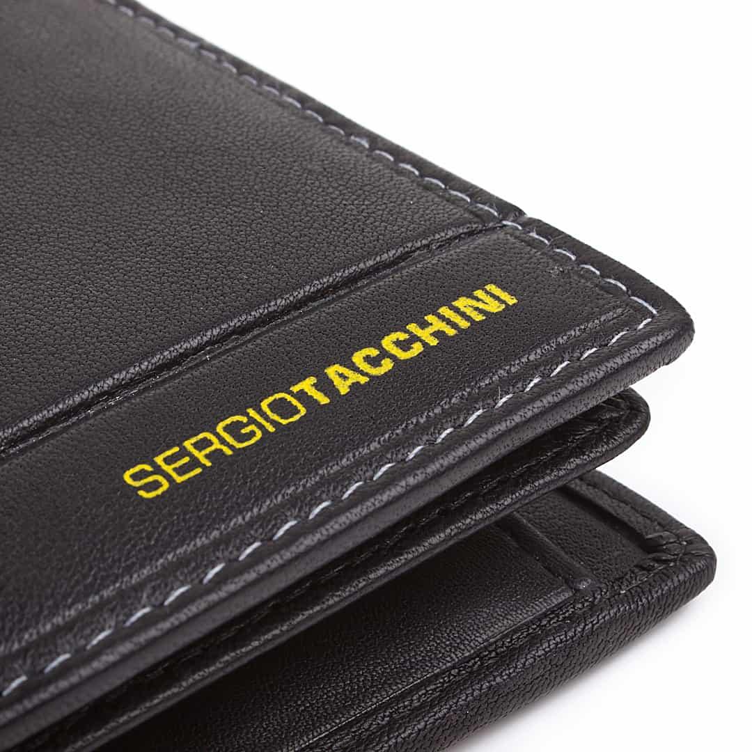 Herren Leder Geldbörse Sergio Tacchini | Touch