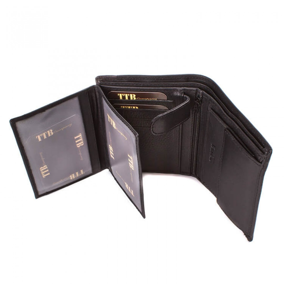 Men's leather wallet TTB | 11188