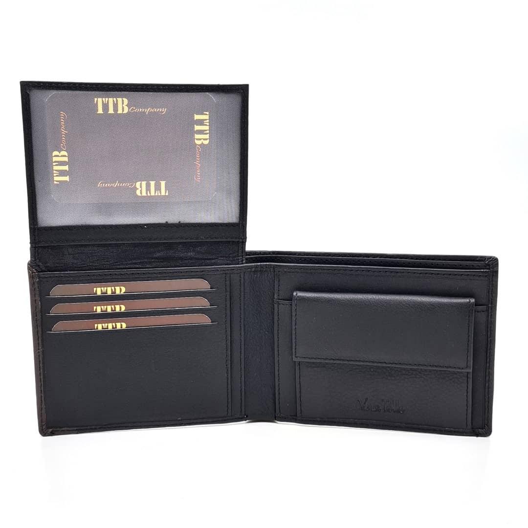 Men's leather wallet TTB Company | Joel