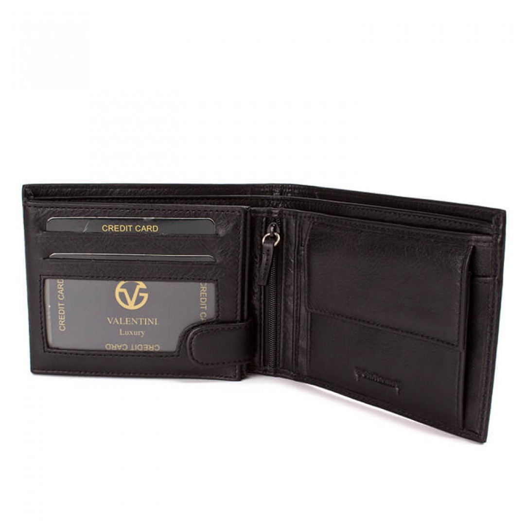 Men's leather wallet Valentini Luxury | 306-261