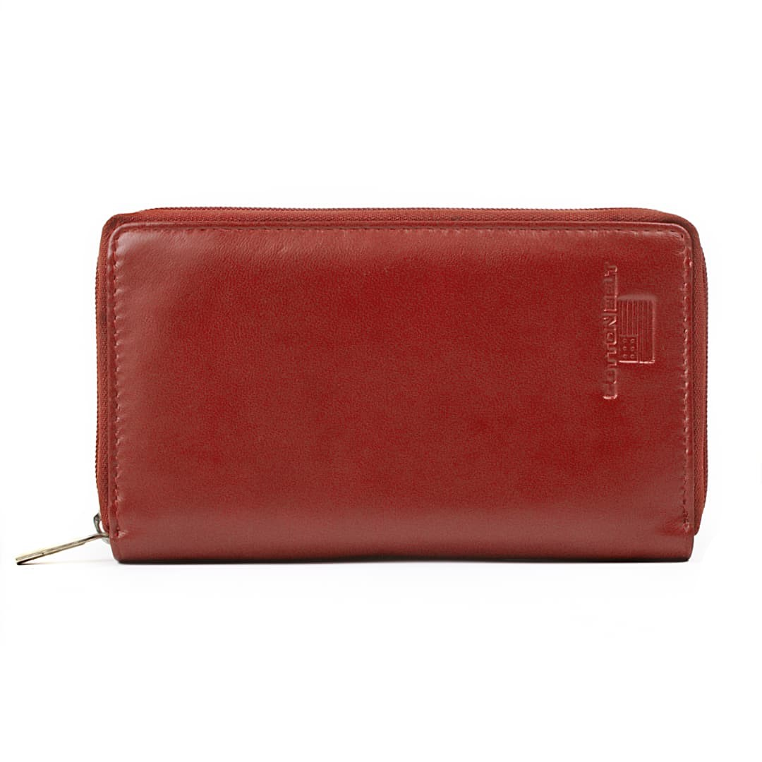 Leather wallet for women Cotton Belt | Ami