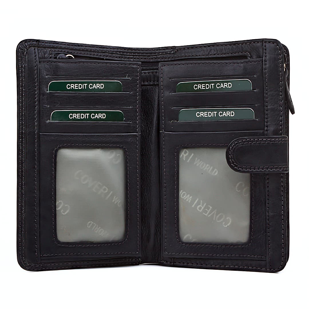 Leather wallet for women Coveri Collection | More