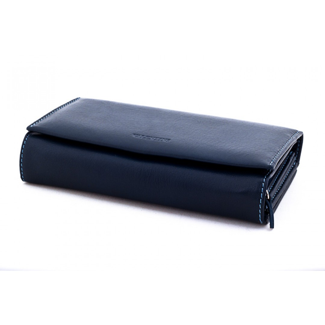 Big leather wallet for ladies Valentini Luxury | 306-155
