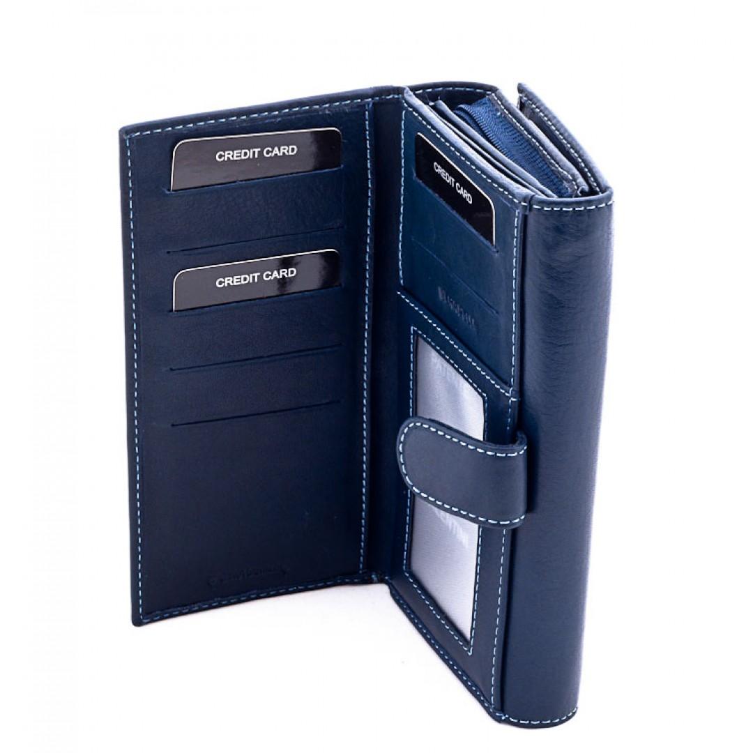 Big leather wallet for ladies Valentini Luxury   306-155