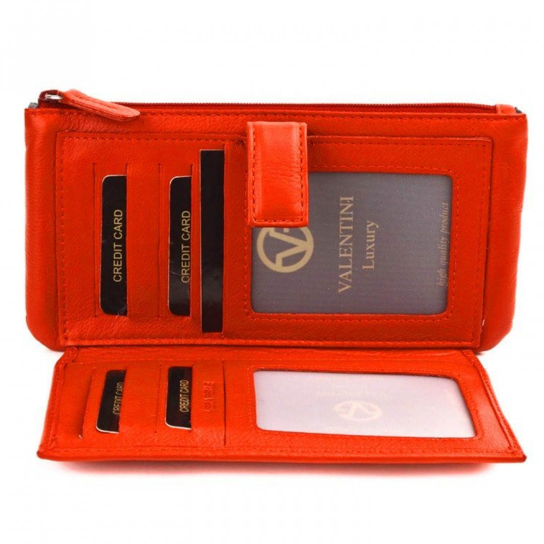 Leather wallet for women Valentini Luxury | Easy