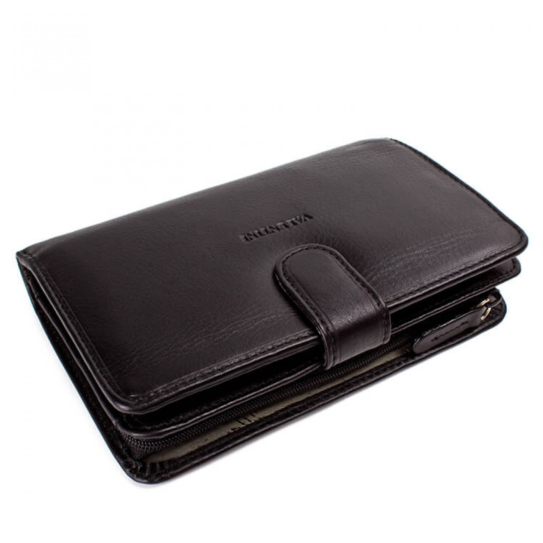 Women's leather wallet Valentini Luxury | 306-ST01
