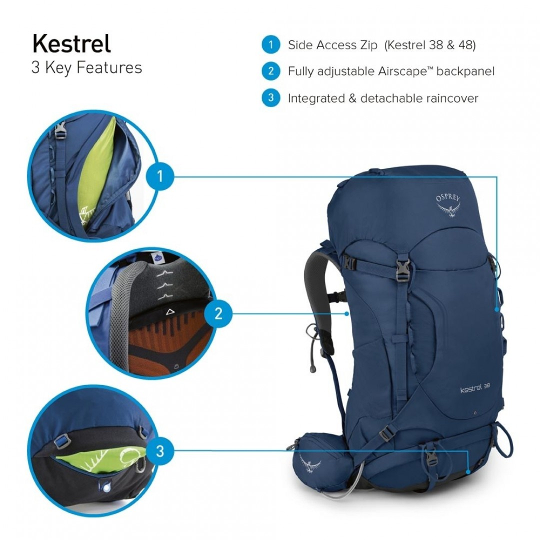 Osprey backpack | Kestrel 48