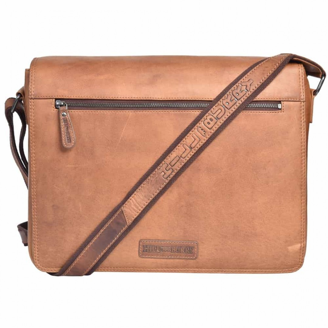 Business leather bag Hill Burry | Messenger