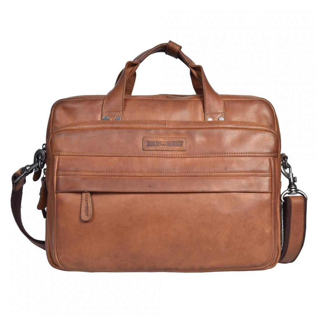 Business bag leather Hill Burry | Vintage