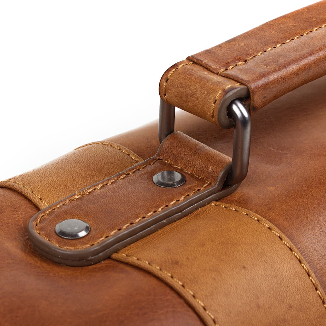 Business leather bag Hill Burry | Durable