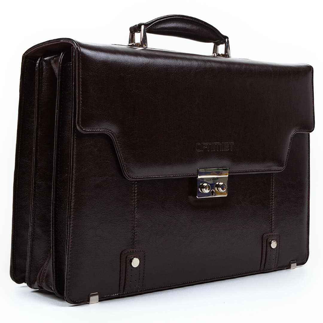 Business leather bag Optimist | James