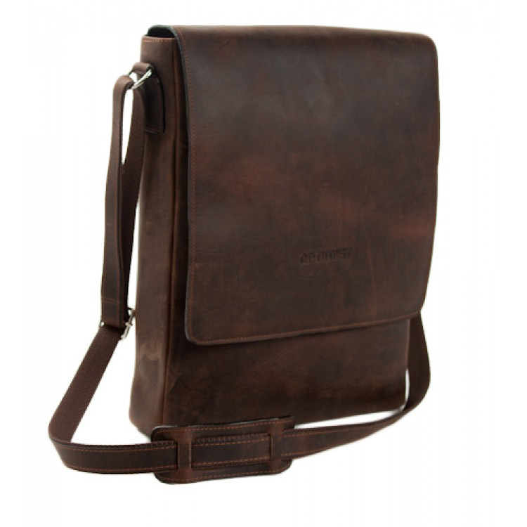 Leather business bag for iPad Optimist | 03240