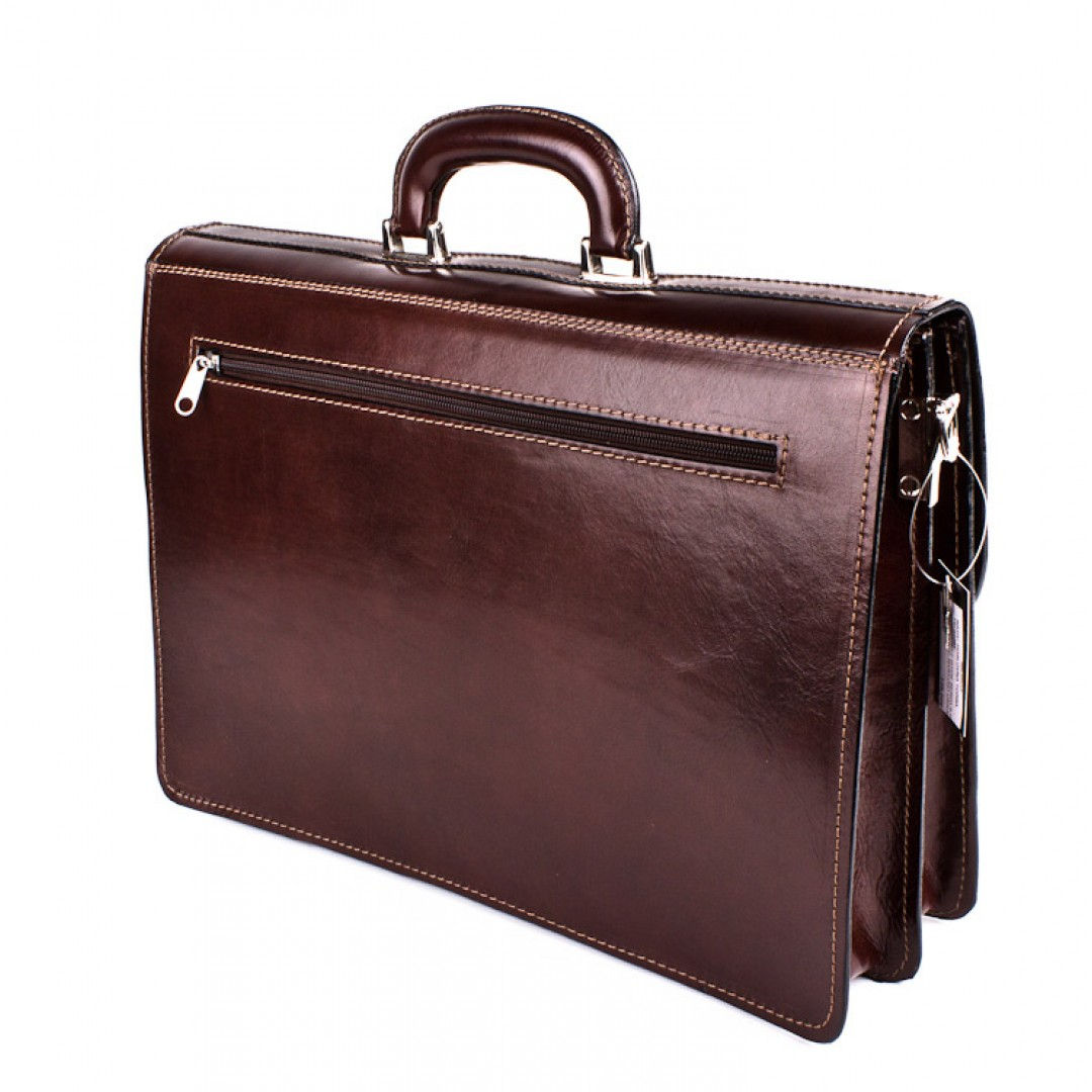 Business Leather Briefcase Optimist | 03263