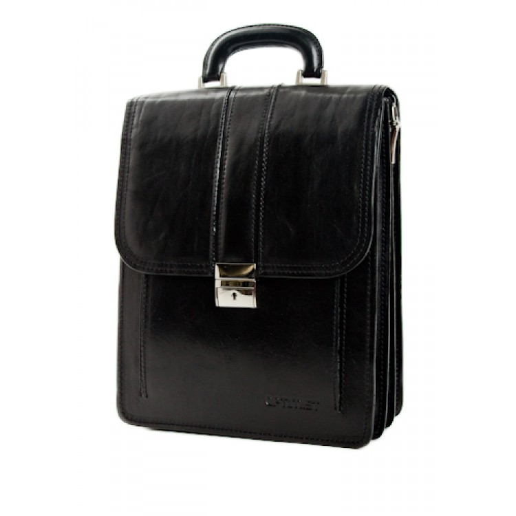 Leather business bag Optimist | 03268