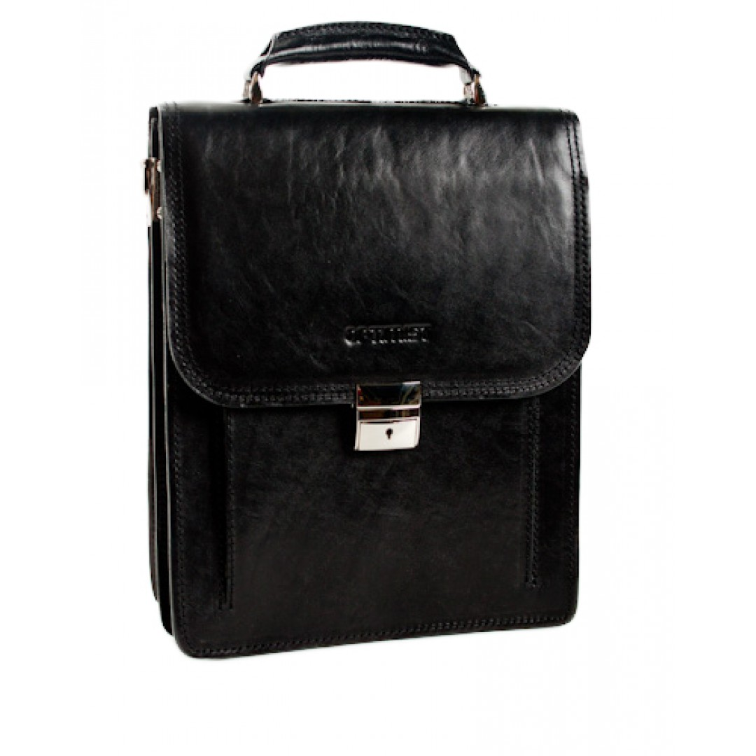Leather business bag Optimist | 03269