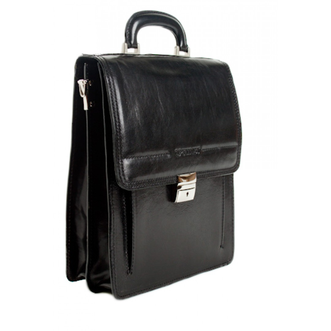 Leather business bag Optimist | 03270
