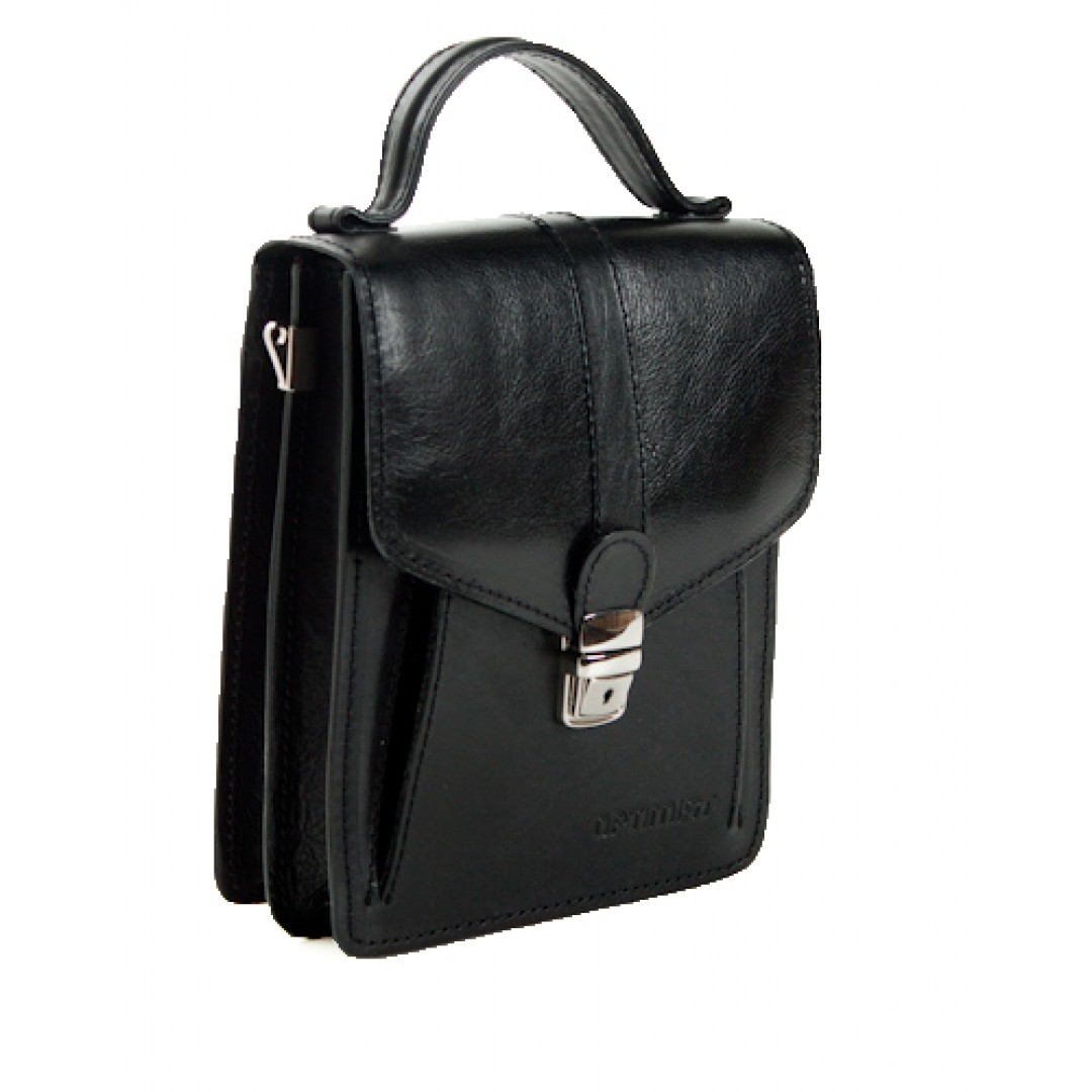 Leather business bag Optimist | 03282