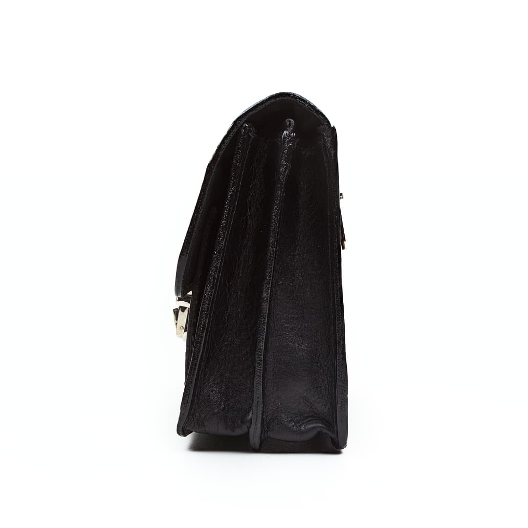 Leder Handtasche Optimist | Hand