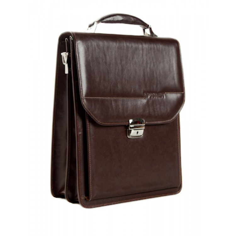 Leather business bag Optimist | 03289