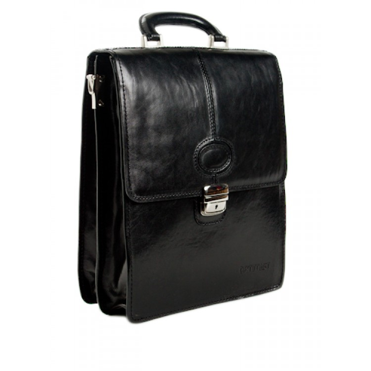 Leather business bag Optimist | 03299