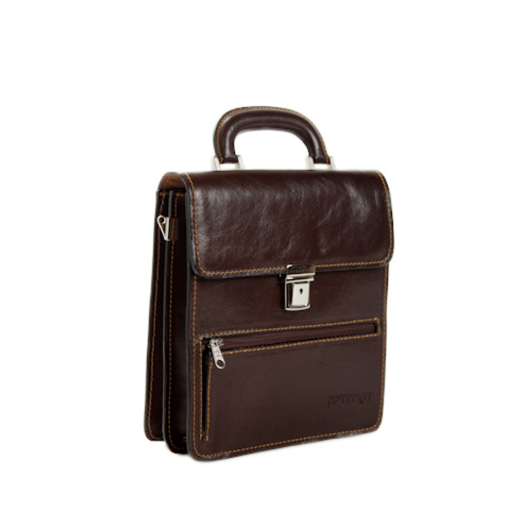 Leather business bag Optimist | 03303