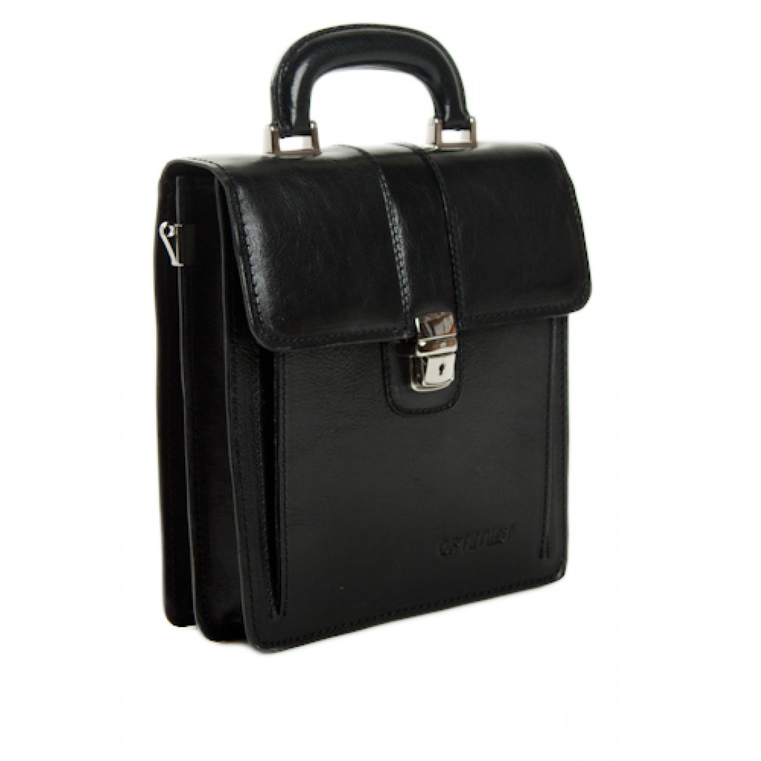 Leather business bag Optimist | 03304