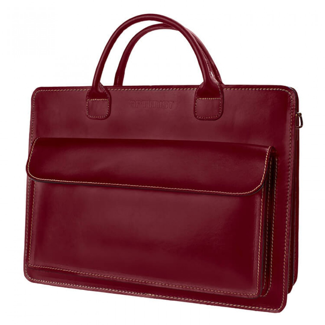 Leather Business Bag Optimist | 20004