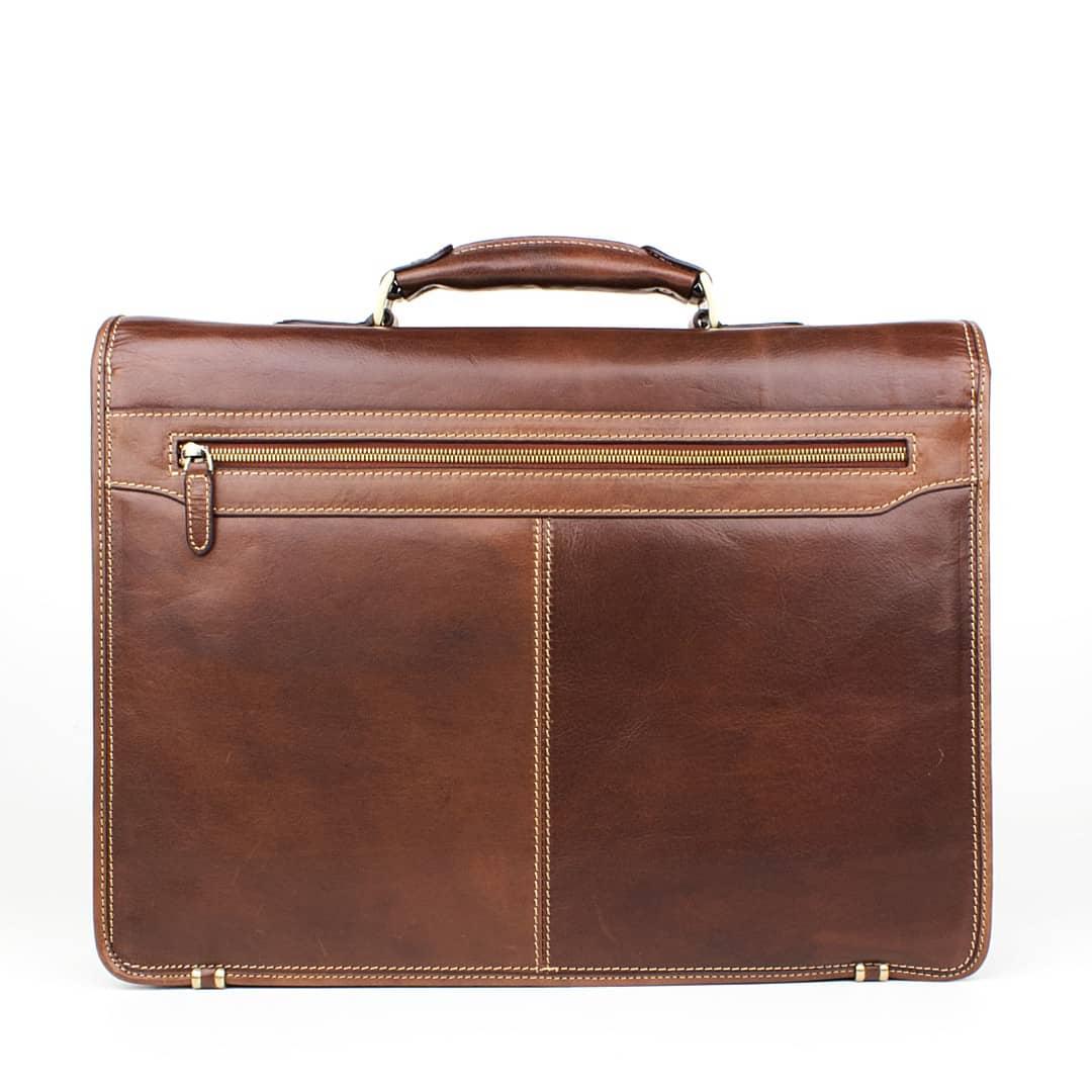 Poslovna torba kožna Optimist | Dolce