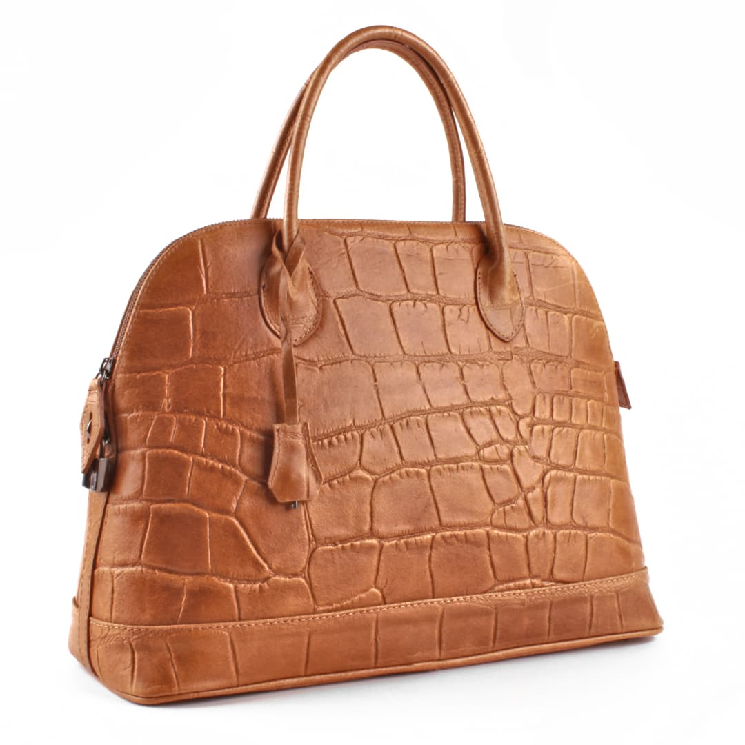 Women's leather handbag Optimist | OP100480
