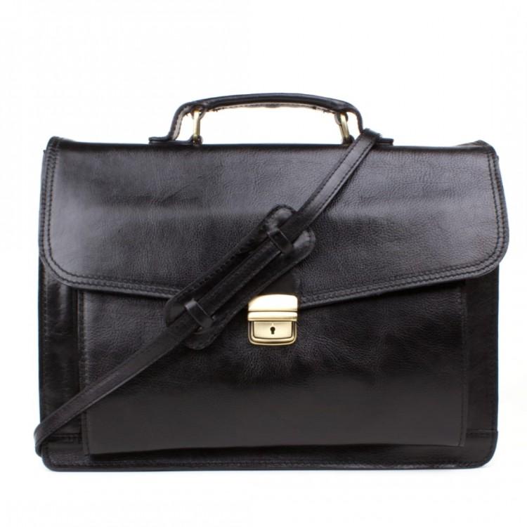 Leather business bag Optimist | Philip