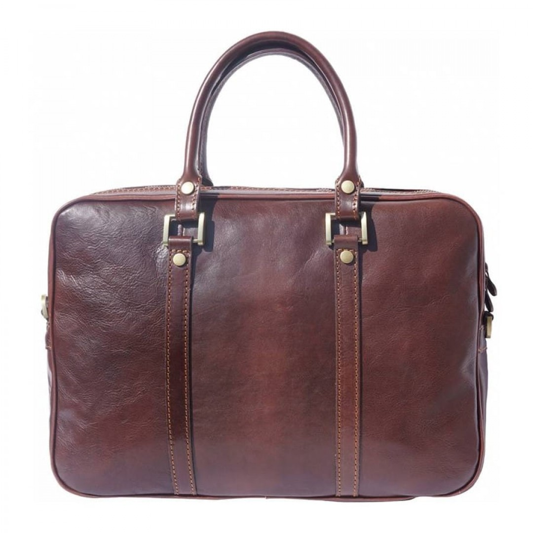 Leather business bag Optimist | Cure