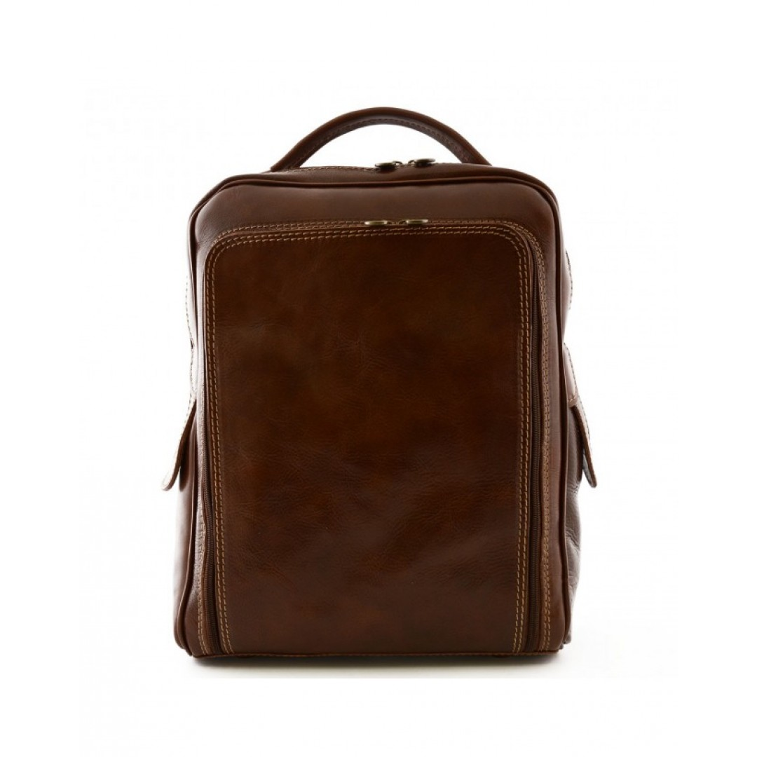 Leather backpack Optimist | OP870480