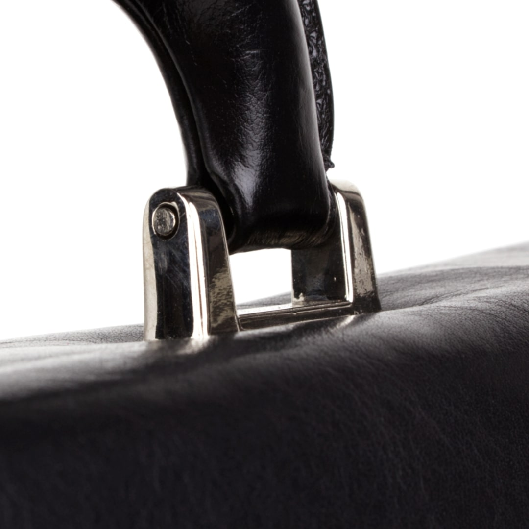 Leather business bag Optimist | Cristiano