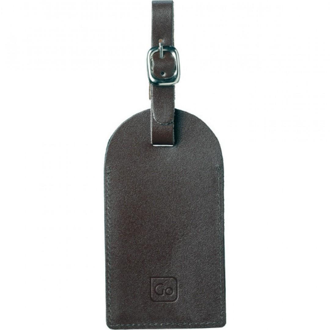 Kožna oznaka za prtljagu Go Travel | 159
